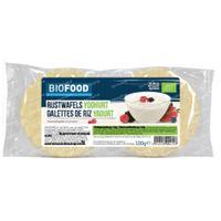 Biofood Rijstwafels Yoghurt Bio 100 g