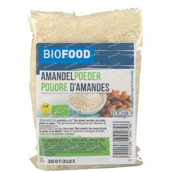 Biofood Poudre d'Amande Bio 100 g