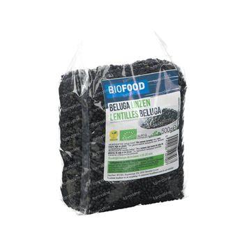 Biofood Beluga Zwarte Linzen Bio 500 g