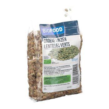 Biofood Groene Linzen Bio 500 g