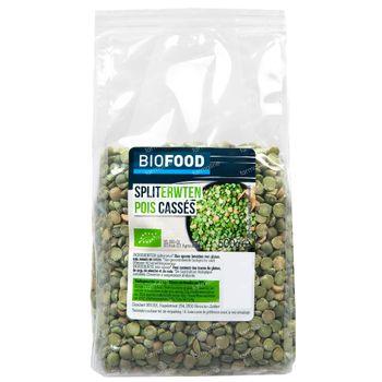 Biofood Spliterwten Bio 500 g
