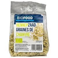 Biofood Graines de Chanvre Bio 100 g