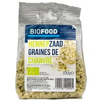 Biofood Hennepzaad Bio 100 g