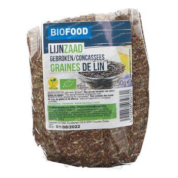 Biofood Gebroken Lijnzaad Bio 250 g
