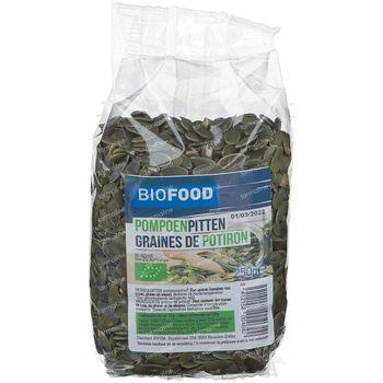 Biofood Graines de Potirons BIO 250 g