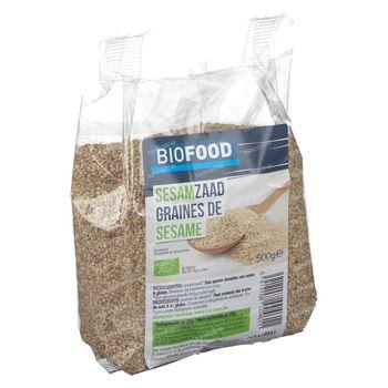 Biofood Biologisch Sesamzaad 500 g
