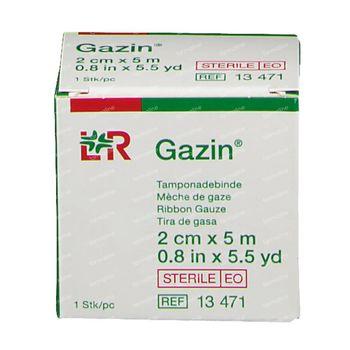 Lohmann & Rauscher Gazin Mèche de Gaze 2cmx5m 13471 1 pièce