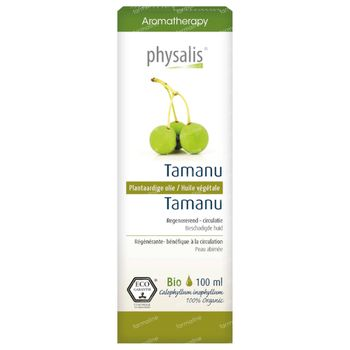 Physalis Tamanu Plantaardige Olie Bio 100 ml