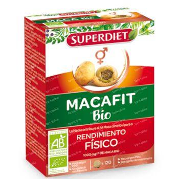 Superdiet Maca Bio 120 capsules