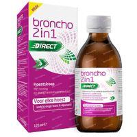 Broncho 2-in-1 Adult Hoestsiroop Sinaasappel - Droge Hoest, Slijmhoest 120 ml