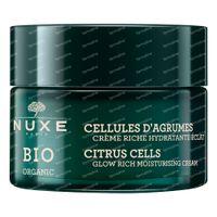 Nuxe Bio Organic Citrus Cells Hydraterende Rijke Crème 50 ml
