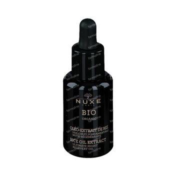 Nuxe Bio Organic Rice Oil Extract Herstellende Nachtolie 30 ml