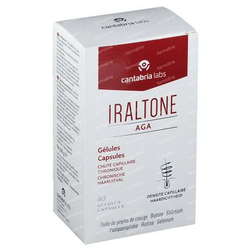Iraltone AGA Chute Cheveux 60 capsules
