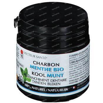 Vecteur Santé Actieve Kool Witte Tanden met Munt Bio 30 g