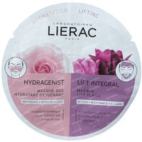 Lierac Hydragenist Hydraterend SOS-Masker + Lift Integral Liftend Masker DUO 2x6 ml