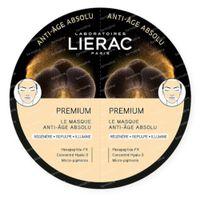 Lierac Premium Masker Absolute Anti-Aging DUO 2x6 ml