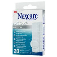 Nexcare Soft Touch Universal 20  pleisters
