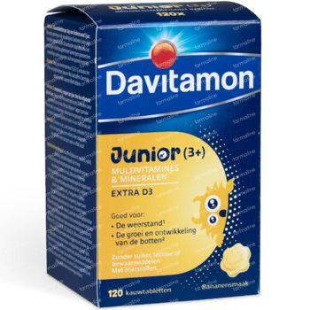 Davitamon Junior Banaan 120 kauwtabletten