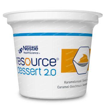 Resource Dessert 2.0 Caramel 4x125 g