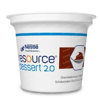 Resource Dessert 2.0 Chocolat 4x125 g
