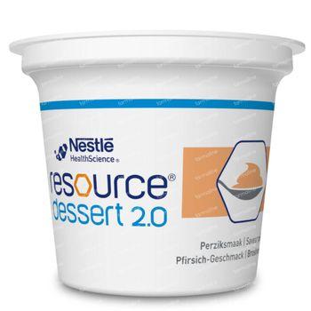 Resource Dessert 2.0 Pêche 4x125 g