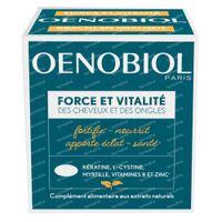 Oenobiol Force & Vitalité des Cheveux et des Ongles 60  capsules