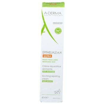 A-Derma Epitheliale A.H. Ultra Crème Réparatrice Apaisante 40 ml