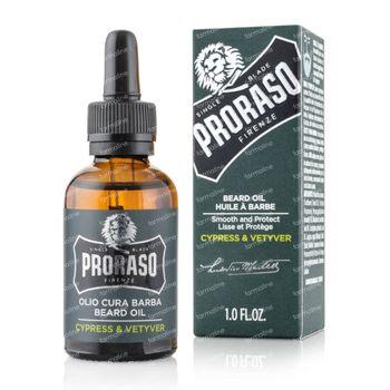 Proraso Cypress Vetyver Huile à Barbe 30 ml