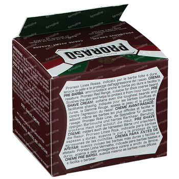Proraso Sandalwood Crème Avant-Rasage 100 ml