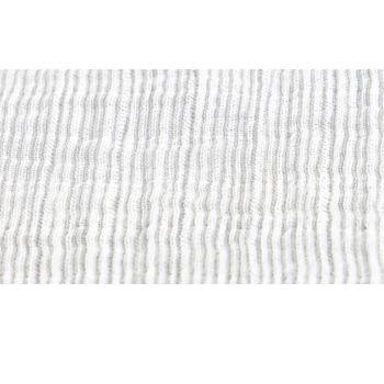 Noukie's Tissus Tetris Cotton Bio 70x70cm Gris 3 pièces