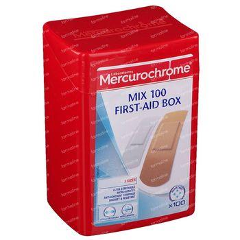 Mercurochrome First Aid Box Mix 100 stuks