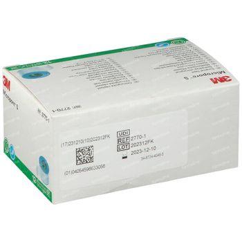3M Micropore Silicone Hechtpleister 2,5x500cm 12 stuks