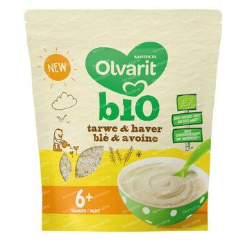 Olvarit Tarwe en Haver Granen Bio +6 Maanden 180 g