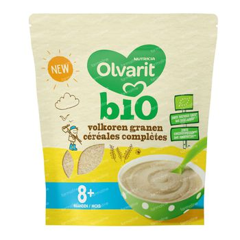 Olvarit Céreals Complètes Bio +8 Mois 180 g
