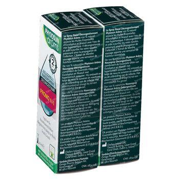 Phytosun Spray Nasal Decongestionnant 1+1 GRATUIT 2x20 ml