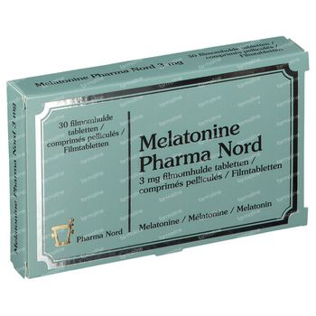 Pharma Nord Melatonine 3mg 30 comprimé