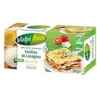 Valpi Bio Feuilles de Lasagnes Maïs et Riz 250 g