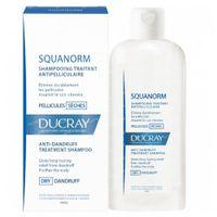 Ducray Squanorm Shampooing Traitant Antipelliculaire Pellicules Sèches Nouvelle Formule 200 ml