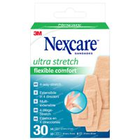 Nexcare Ultra Strech Comfort and Flex Plâtres 30 pièces