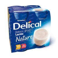 Delical Melkdrank HP-HC Natuur 4x200 ml