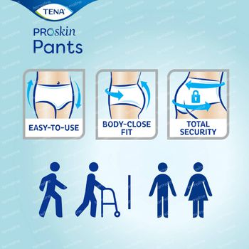 TENA ProSkin Pants Plus Extra Extra Small 14 stuks