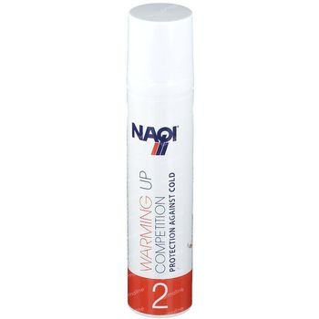 Naqi Warming Up Competition 2 Nieuwe Formule 100 ml