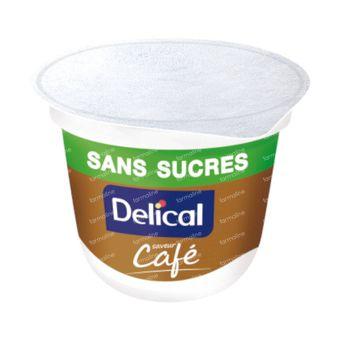 Delical Crème Dessert HP-HC Café Sans Sucre 4x125 g