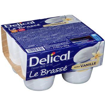 Delical Le Brassé Vanille 4x200 g