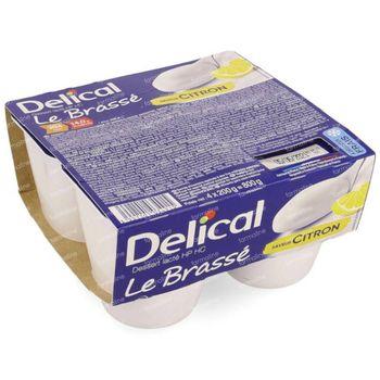 Delical Le Brassé Citron 4x200 g