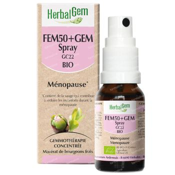 HerbalGem Fem50+Gem Complex Spray Bio 10 ml