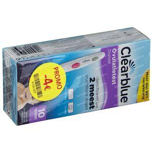 Clearblue Digitale Ovulatietest Verlaagde Prijs 10 pièces