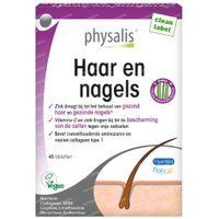 Physalis Cheveux et Ongles 45  comprimés