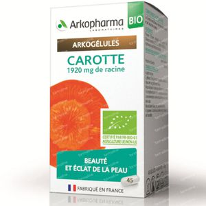 Arkogelules Carotte Bio 45 capsules