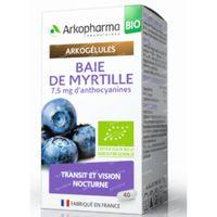 Arkogelules Baie De Myrtille Bio 40  capsules